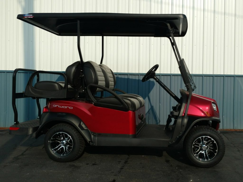 2019 Club Car Onward 4pass Non Lifted Candy Apple Red