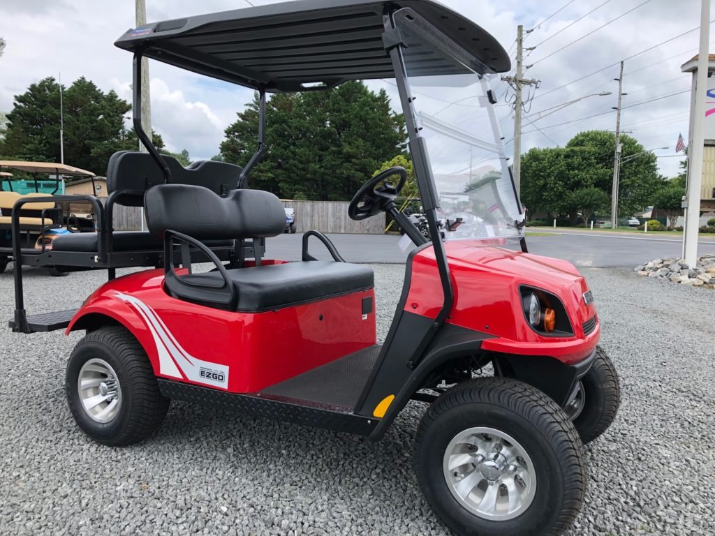 How To Flip Cars >> 2019 EZGO TXT 72V - Flame Red - Indian River Golf Cars